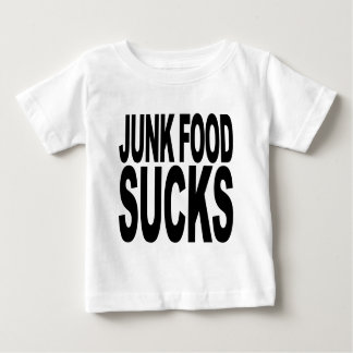 Junk Food Sucks Baby T-Shirt
