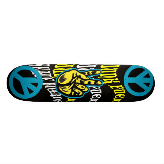 JUNK FUEL PEACE SKATE BOARD DECK