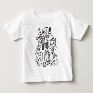 Junk / Spare-parts Clunky Robot Character Baby T-Shirt