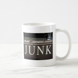 Junk: Vintage tow truck sign Basic White Mug