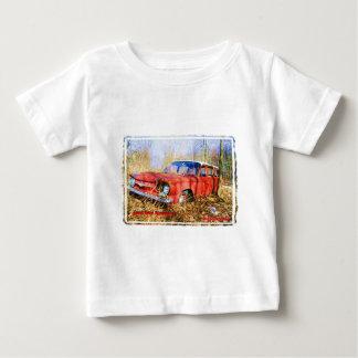Junk Yard Memories Red Corvair Station Wag Shirts