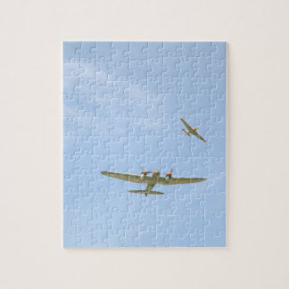 Junkers JU88 In Air, From Below_WWII Planes Puzzles