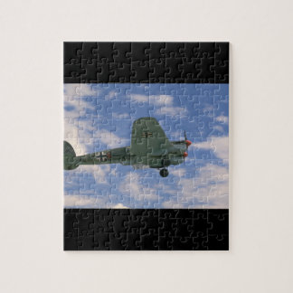 Junkers JU88 In Flight. (plane;ju88_WWII Planes Puzzles
