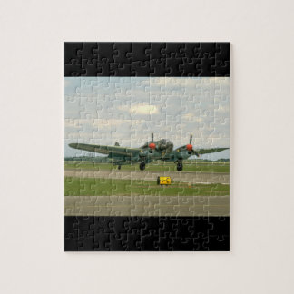 Junkers JU88 On Runway._WWII Planes Puzzle