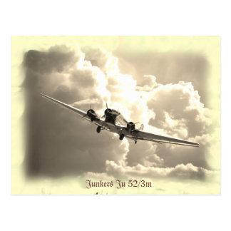 Junkers Ju 52/3m Postcard