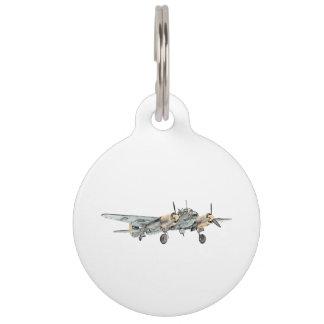 Junkers Ju 88 Bomber Pet ID Tags