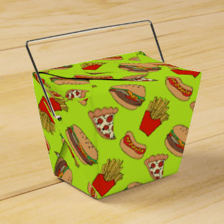 Junkfood takeout container box favor box