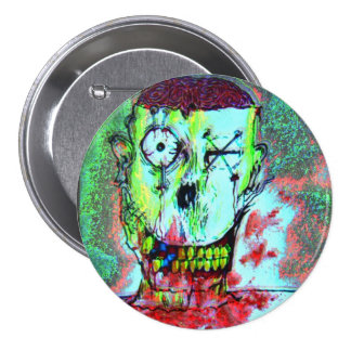 Junkie Smile Pinback Button