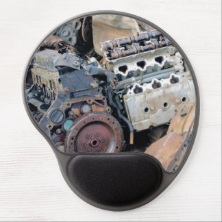 Junkyard Engines Gel Mouse Pad