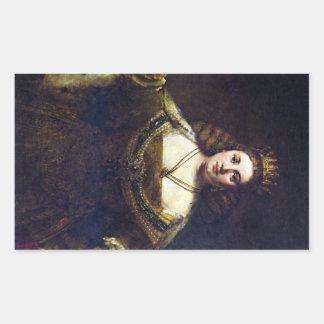 Juno by Rembrandt Harmenszoon van Rijn Sticker