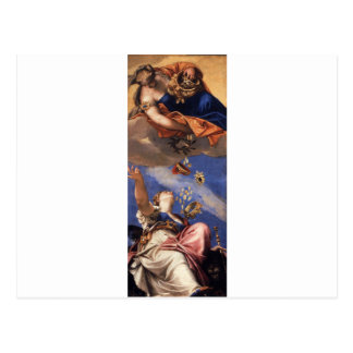 Juno Showering Gifts on Venetia by Paolo Veronese Postcard