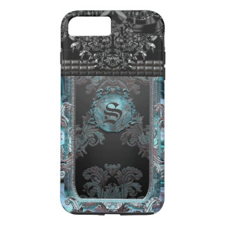 Junobeau Peshfyee  Gothic Unique Monogram iPhone 8 Plus/7 Plus Case