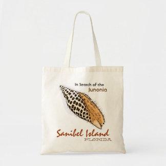 Junonia shell Sanibel Island Florida humor bag