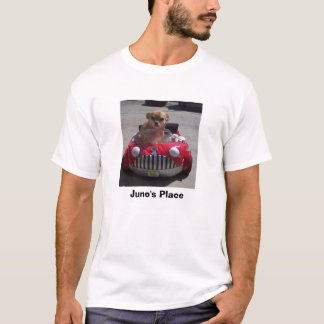 Juno's Place Red Car T-Shirt