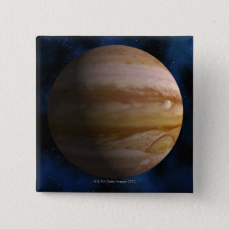 Jupiter 2 Inch Square Button
