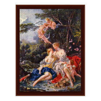 Jupiter And Callisto By François Boucher Postcard