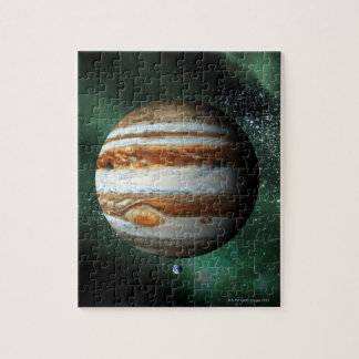 Jupiter and Earth Comparison Puzzle