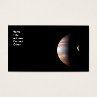 Jupiter and Io Business Card