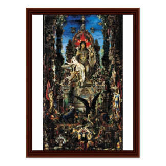 Jupiter And Semele By Moreau, Gustave Postcard
