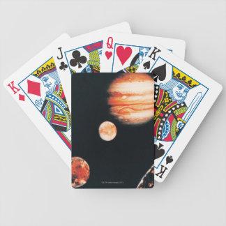 Jupiter and The Galilean Satellites Poker Deck
