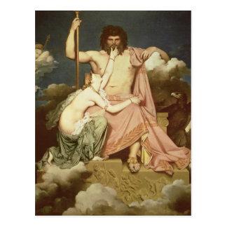 Jupiter and Thetis, 1811 Postcard