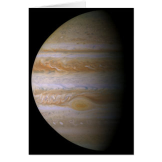 Jupiter as Seen by the Space Probe Cassini Card