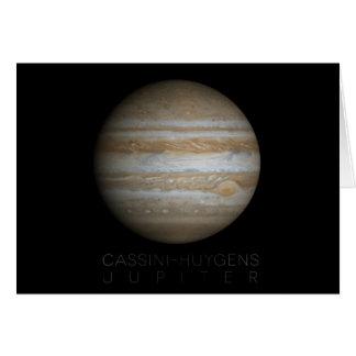 Jupiter - Cassini–Huygens Card