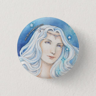 Jupiter Deo, Goddess of Wade 1 Inch Round Button