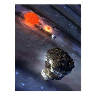 Jupiter Impact Postcard