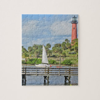Jupiter Inlet Lighthouse Jigsaw Puzzle