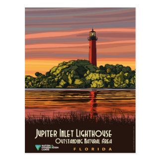 Jupiter Inlet Lighthouse Postcard