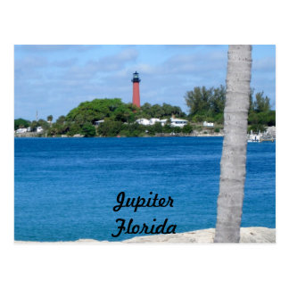 Jupiter Lighthouse from DuBois Park Postcard