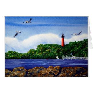 Jupiter Lighthouse III Card