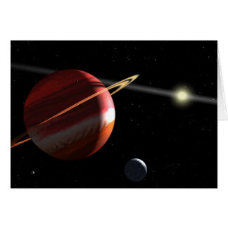 Jupiter-mass planet orbiting the nearby star Epsil Card