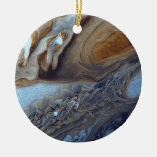 Jupiter Storm Ceramic Ornament