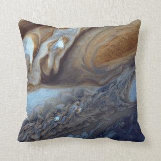 Jupiter Storm Throw Pillow