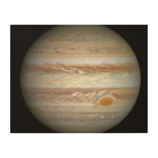 Jupiter (WFC3:UVIS, April 21, 2014) Wood Prints