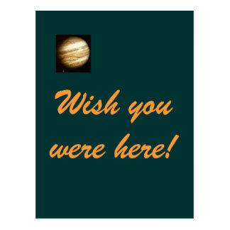 Jupiter- Wish you were here postcard