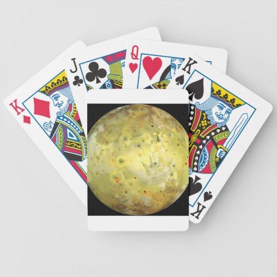 Jupiter's Moon Io Bicycle Playing Cards