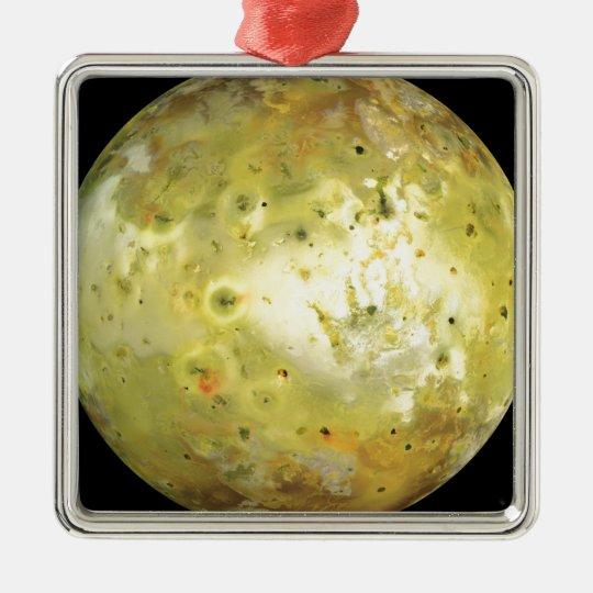 Jupiter's Moon Io Metal Ornament