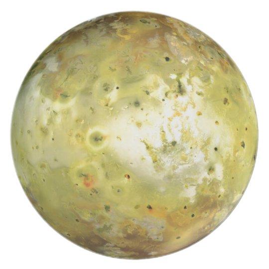 Jupiter's Moon Io Plate
