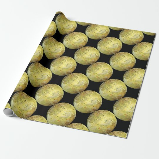 Jupiter's Moon Io Wrapping Paper