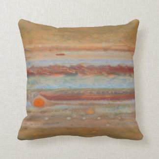 Jupiter's Surface   Throw Pillow