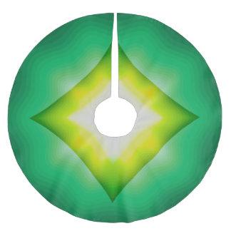 Jupon De Sapin En Polyester Brossé Tri vert