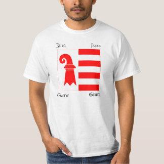 Jura Four Language Swiss Canton Flag T-Shirt