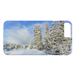 Jura mountain in winter, Switzerland iPhone 7 Plus Case
