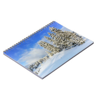 Jura mountain in winter, Switzerland Notebooks