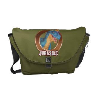 Jurassic bag courier bag