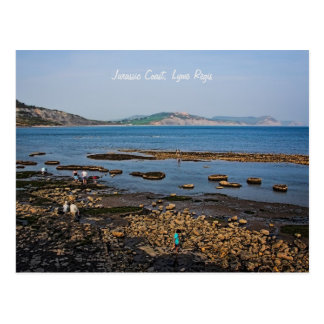 Jurassic Coast, Lyme Regis, Dorset Postcard