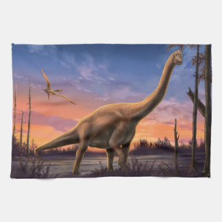 Jurassic Dinosaur Kitchen Towel